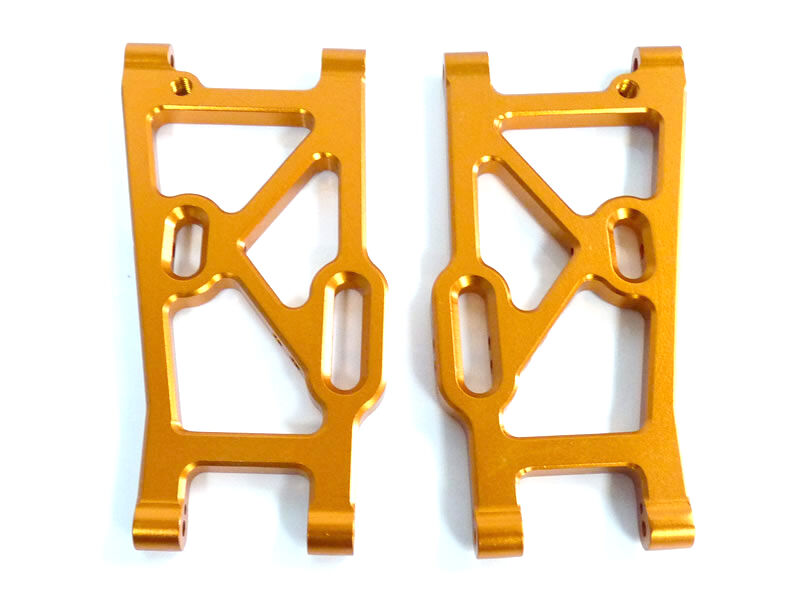 M812 Toe links LOWER REAR Aluminium gold Himoto 1 8 REAR LOWER SUSPEN