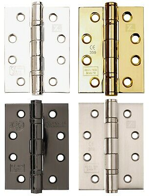UK Quality Price Per Hinge Fire Door Hinges Concealed Ball Bearing 4 Inch CE12