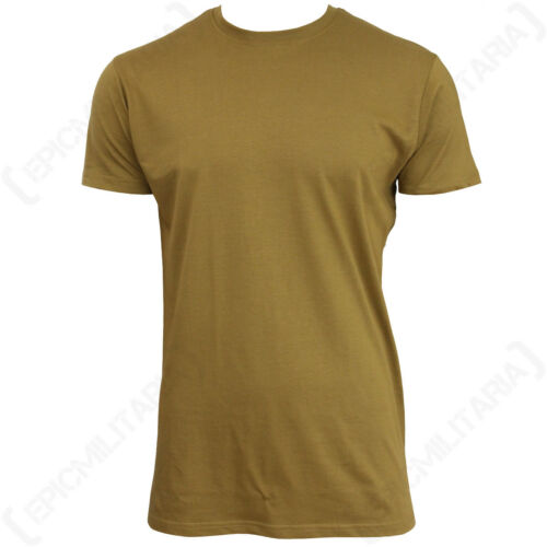 Coyote US Style BDU T-Shirt Cotton t shirt Top Army Military All Sizes New