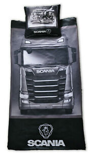 LKW-Scania-Bettwaesche-Satz-3D-R-P-T-All