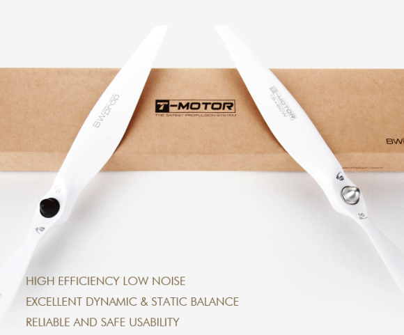 4x T-MOTOR 12 x 4.7 legno di faggio ELICHE Eliche CW CCW/RC Quadcopter Drone