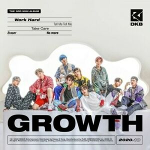 Dkb - Growth (incl. 64pg Booklet, Postcard, Photocard + Sticker) [New CD] With B