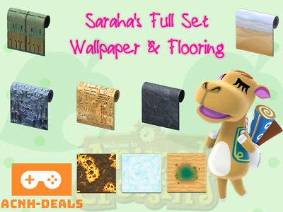 Sahara Wallpaper Flooring Rugs Acnh Ebay