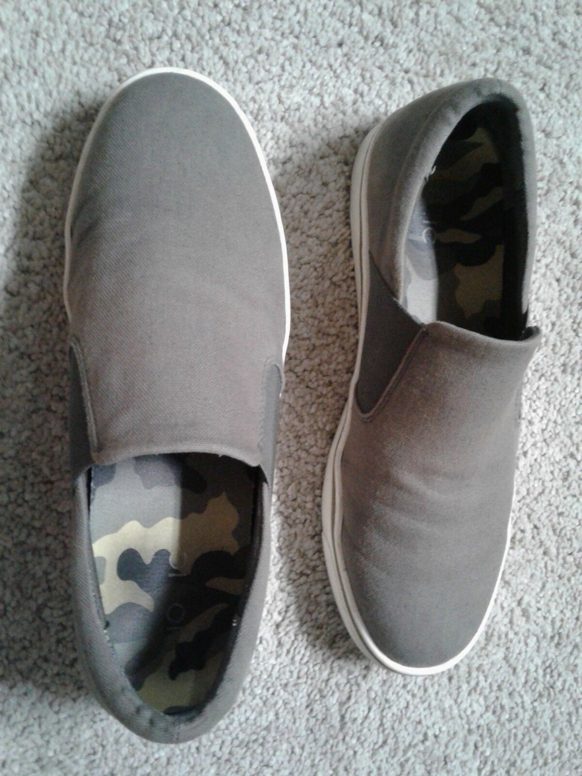 Men's/Women's Vionic Mens Slip Ons 10 Gray Ideal gift for all occasions Let our goods go to the world Contrary to the same paragraph