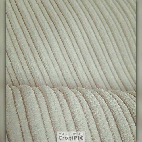 "Plain Cushion Covers 24/"" 26/""   New Shades  UK stock Jumbo Soft Cord Fabric"