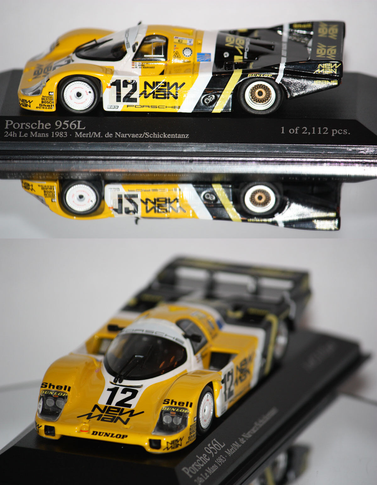 Minichamps Porsche 956L 24h du Mans 1983 1 43 430836512