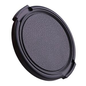 55mm-Kunststoff-Snap-on-Front-Lens-Cap-Cover-fuer-Nikon-Canon-Sony-Fujifilm