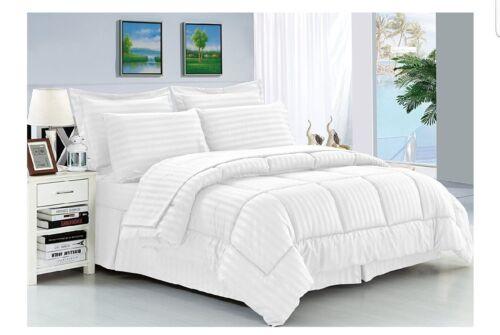 Elegant confort 8 Piezas Confort Set Stripe, hipoalergénico
