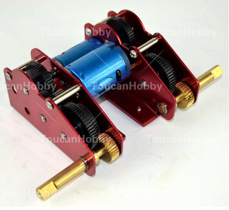 HengLong 1 16 Tanque 3869 3879 3888 3888 un 3899 un M + L 59 mm Caja de cambios Ultimate II