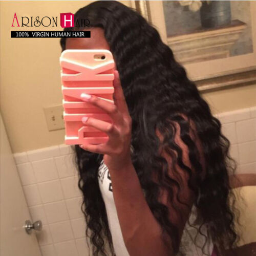 7A Glueless Full Lace Wigs Unprocessed Peruvian Virgin Hair Loose Wave Full Wigs