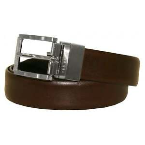 8f3909d77091a4 Image is loading Ted-Baker-Men-039-s-Reversible-Textured-Leather-