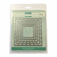 Trimcraft First Edition Metal Paper Card Craft Die Set - Nesting Stamps
