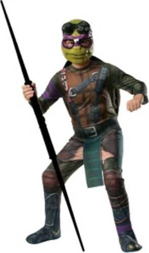 RD Mens Costume Fancy Dress Licensed Teenage Mutant Ninja Turtles Deluxe TMNT