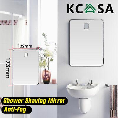 Kcasa Shaving Shower Mirror Bathroom Anti Fog Wall Suction Mount Fogless Travel Ebay