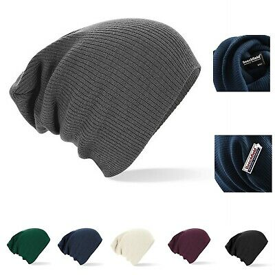 Slouch surdimensionné baggy hiver beanie bonnet skate snow