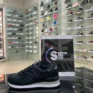 Detalhes sobre New Balance 574 Nere Glitter donna Scarpe Sneakers Sportive Ginnastica Casual