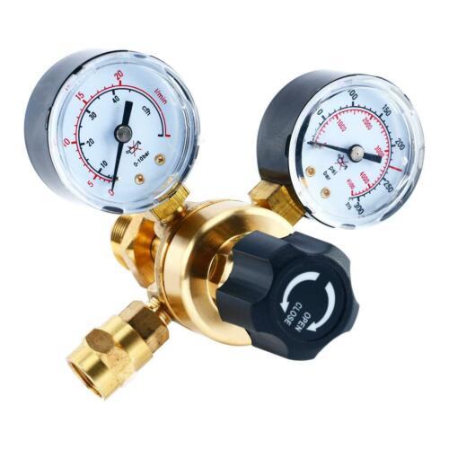 Gas Bottle Regulator CO2 Argon Mig Tig Weld 0-4500PSI//0-10BAR Pressure Reducing