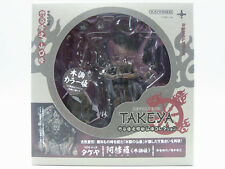 REVOLTECH TAKEYA SERIES 003EX Ashura Wooden Version Action Figure Kaiyodo
