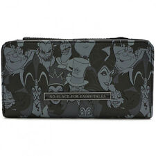 Disney Villains Maleficent Wallet Loungefly Licensed Black 3D Horns 2018 NEW