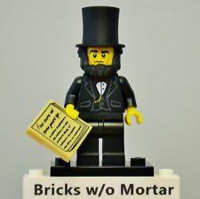 New Genuine LEGO Abraham Lincoln Minifig The Lego Movie 71004