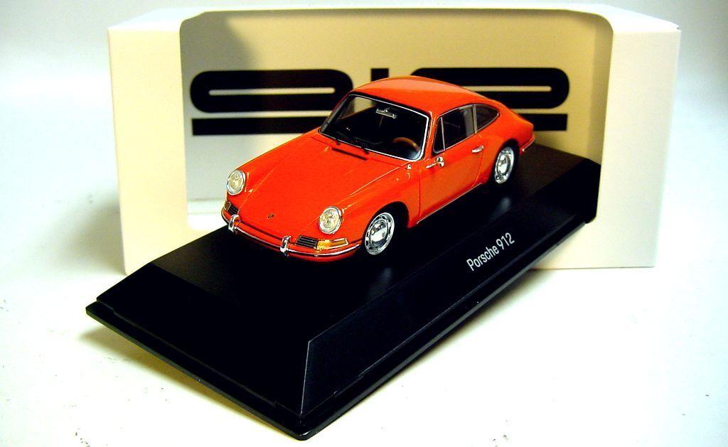 Web oficial 1 43 Spark Spark Spark 1965 Porsche 912 Coupé Naranja Nuevo Porsche Museum Promo     mejor calidad mejor precio