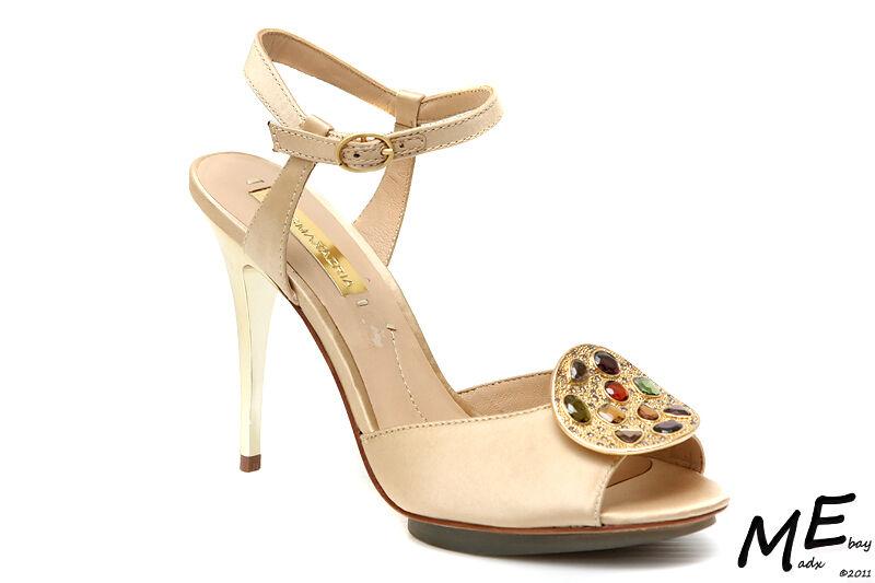 New BCBG MAXAZRIA Nastia Ankle-Strap Women Fashion Heel shoes Sz7.5 (MSRP )C