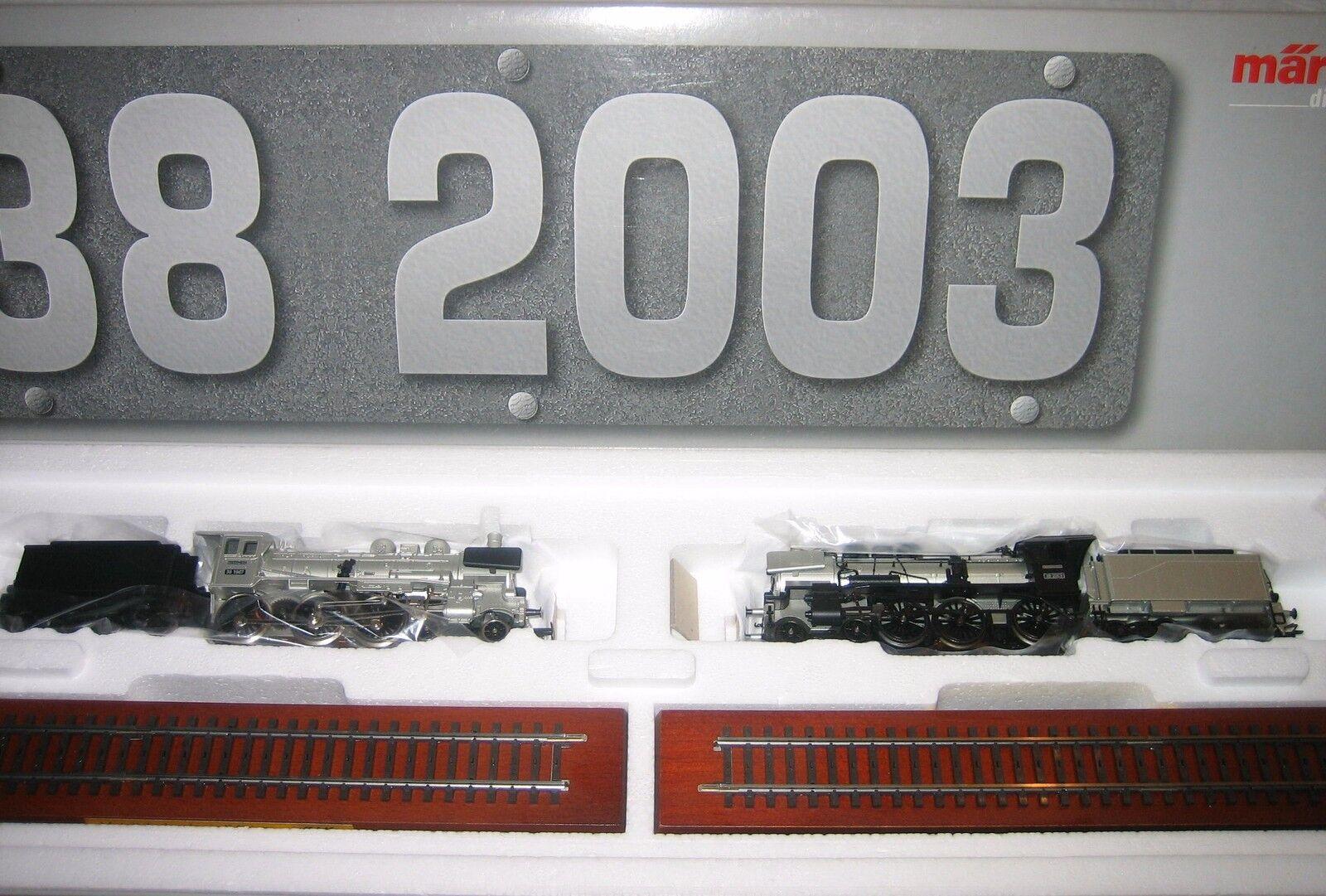 Märklin H0 38 2003 Steam Locomotive Train Set Technology New Condition Original