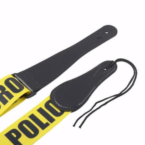 ░▒▓ ProMont Gitarrengurt PDC ▓▒░ POLICE LINE DO NOT CROSS PLDC