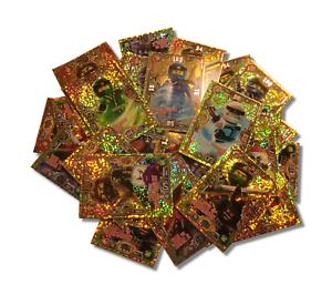 Lego ninjago serie 3 trading card game limitierte gold - Carte ninjago ...