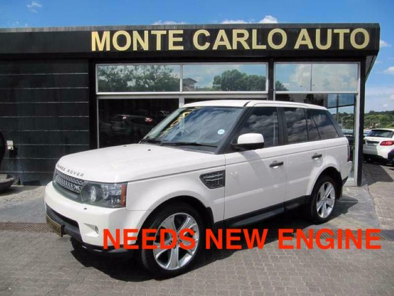 2010 Land Rover Range Rover Sport 5.0 V8 Supercharged, White with 102000km available now!