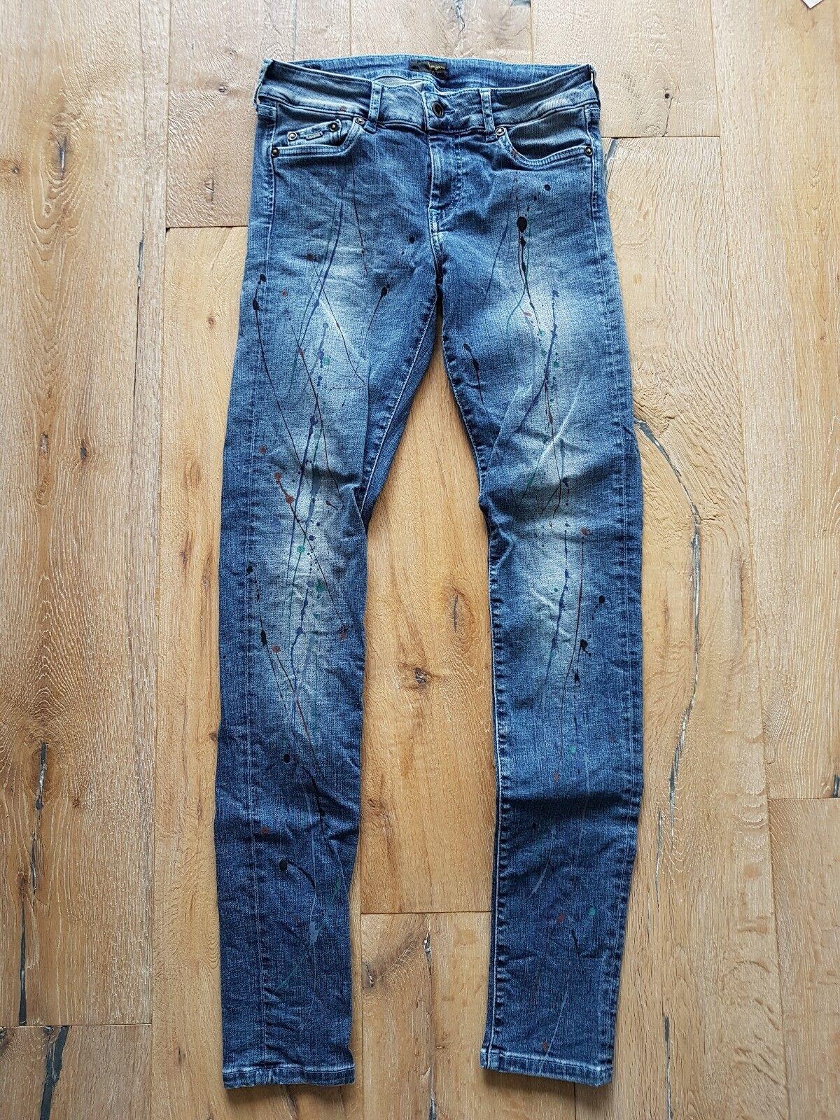 Pepe Jeans Pixi Panit Wie Neu  Jeans Hose Damen 27 28 skinny Jeans knöchellang
