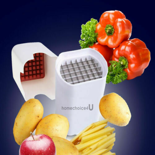 Details about  /Perfect Fries One Step Natural French Fry Cutter Vegetable Fruit  Potato Tools
