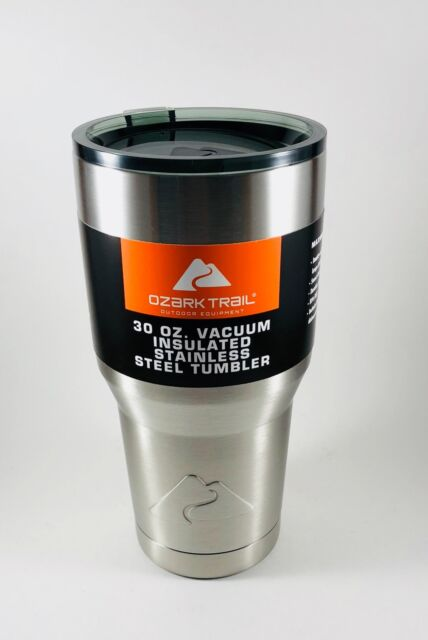 d0b87205873 Ozark Trail 30 oz Vacuum Insulated Stainless Steel Tumbler