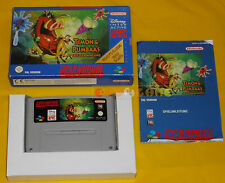 TIMON & PUMBAAS Jungle Games Super Nintendo Snes Ver PAL Tedesca ○○○○○ COMPLETO