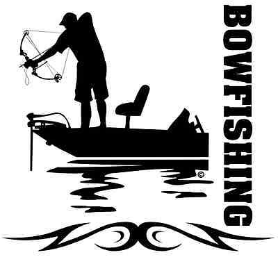 "3.5/"" x 7/""  Carp Shooter Bowfishing Decal Sticker ProSticker 1516 One"