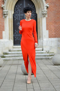 H-amp-M-Maxi-Long-Robe-Taille-UK6-EU32-US2