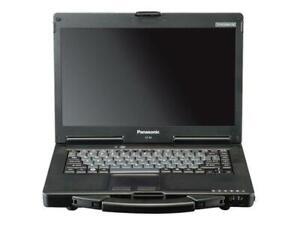 "Panasonic ToughBook CF-53 14"" i5-4310U 500GB 4GB HD Windows 10 Black Laptop C"
