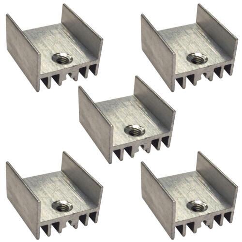 TO220 TO126 Transistor Heat Sink Natural Aluminium