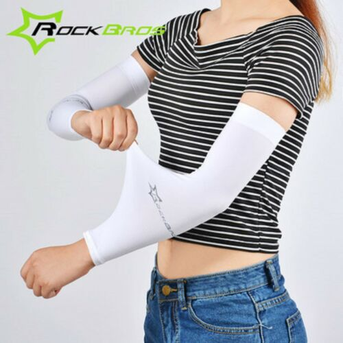 Bras manches Summer Outdoor Sport Housse Cyclisme UV Protection Solaire 1 paire
