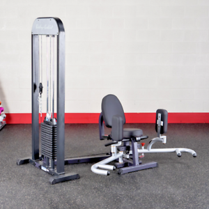 Body-Solid Pro-Select Inner Outer Thigh Selectorized  310lb Abductor Adductor  we take customers as our god