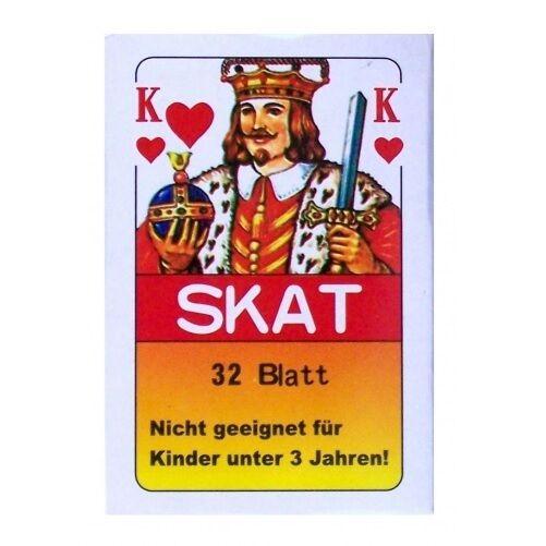 72x Skatkarten   32 Blatt Skat Karten Spielkarten Französisches Blatt Skatspiel