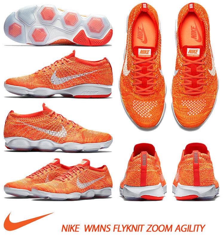 Nib Nike pour Femmes Flyknit Zoom Agility Entraînement Chaussures 698616 604