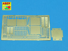 ABER 1/35 PE PHOTO-ETCHED FRONT & BACK MUDGUARDS for TIGER I #35A10