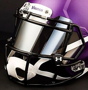 Minnesota Vikings Nfl Under Armour Football Helmet Mirror