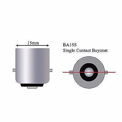 Strobe Backup Reverse 1156 BA15S 33SMD LED Projector Lens Ice Blue K1 K