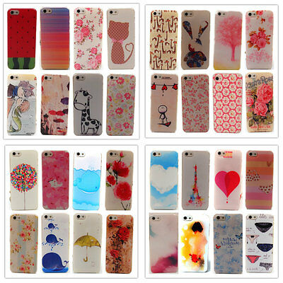 Fashion Cute Design Pattern Hard Back Case Cover Skin For Apple iPhone 4S 5S 5G
