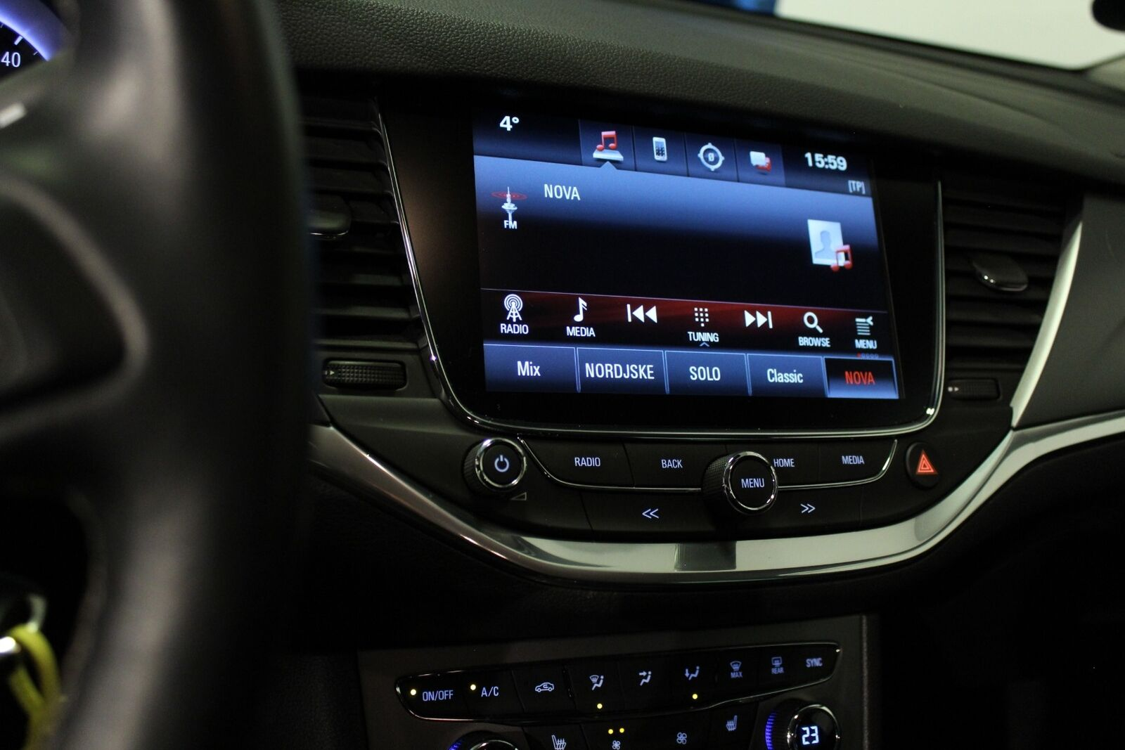 Opel Astra 1,0 T 105 Enjoy ST - billede 12