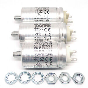 Hydra motor condensadores set Revox b77 pr99 a77 (1x 3,5μf + 2x 4,5μf) capacitors