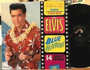 Elvis Presley Blue Hawaii Vinyl LP RCA LPM-2426 MONO Can't Help Falling In Love