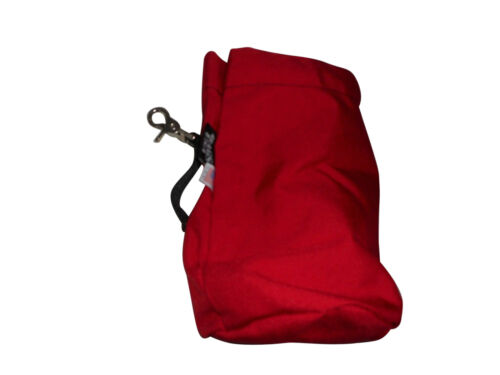 Rope bag,rescue throw rope bag,cordura drop bag holds up to 65/' Made in USA.